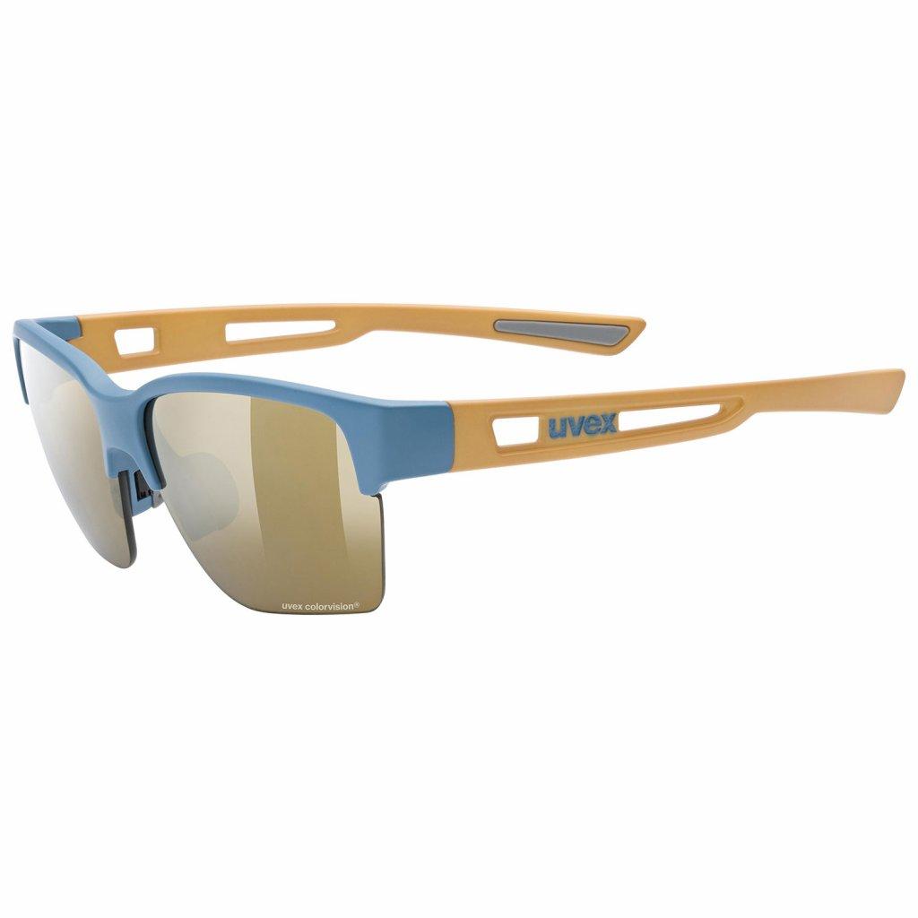Sluneční brýle Uvex Sportstyle 805 CV - blue/sand mat