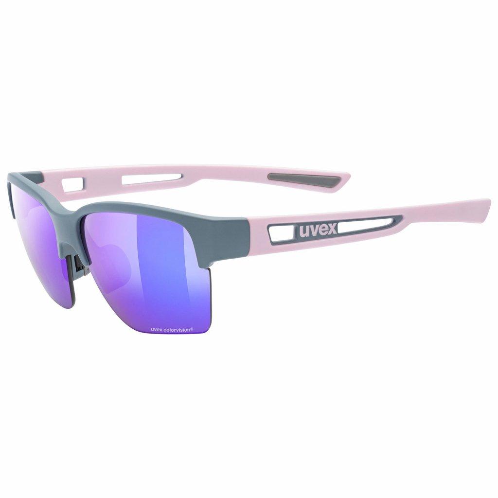 Sluneční brýle Uvex Sportstyle 805 CV - grey/rose mat
