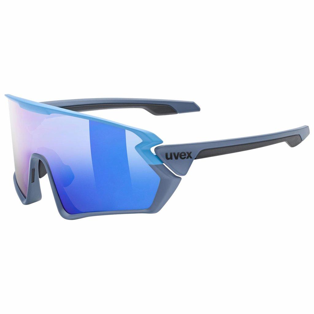 Sluneční brýle Uvex Sportstyle 231 - blue/grey mat