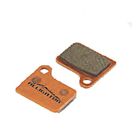 Brzdové destičky PRO-T AGR Organic na Shimano Hydraulic