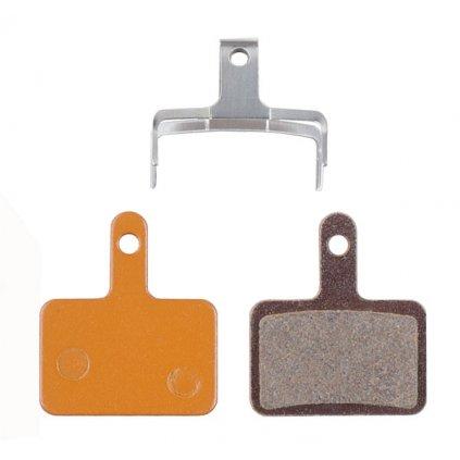 Brzdové destičky PRO-T AGR Organic na Shimano Mechanical/Hydraulic