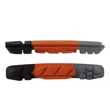 Brzdové gumičky PRO-T Plus Cartridge třísměsové EVO 65R