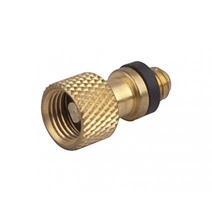 Redukce na ventilek AV na DV s kuličkou (10ks)