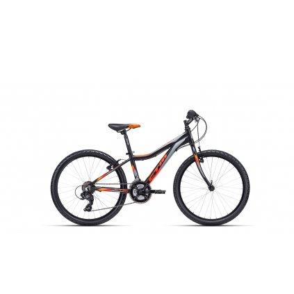 CTM ROCKY 1.0 matná černá / oranžová 2020