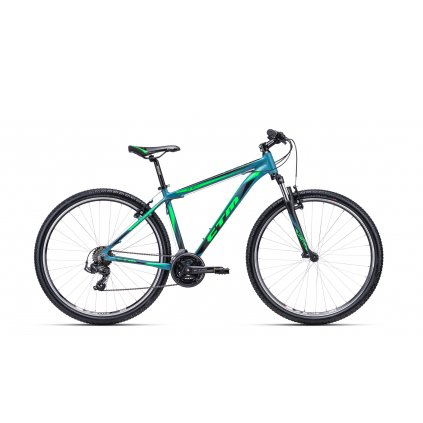 "CTM REIN 1.0 29"" matná šedo-modrá / zelená 2020"