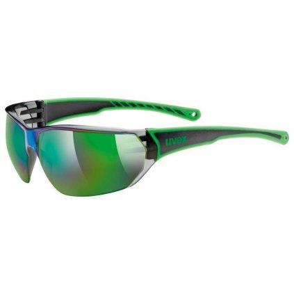 Sluneční brýle Uvex Sportstyle 204 - black green
