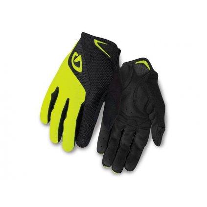 rukavice GIRO BRAVO LF-black/highlight yellow