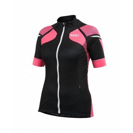 Dámský dres Kalas Titan X8 krátký rukáv fluo/černý