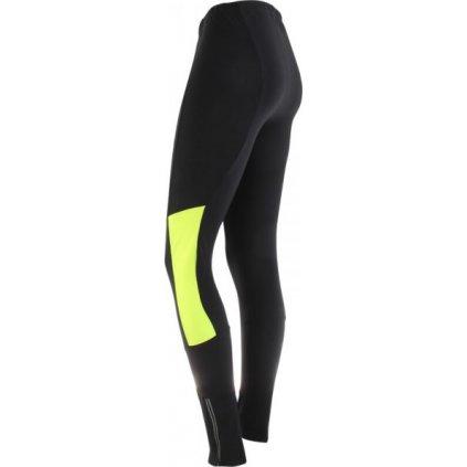 dámské kalhoty AXON WINNER D černá/žlutá