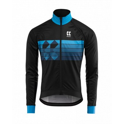 Cyklistická bunda Kalas Motion Z černá/modrá