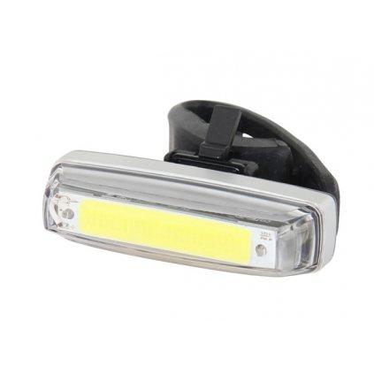Světlo přední PRO-T Plus blikací 80 Lumen COB diody nabíjecí přes USB kabel 238