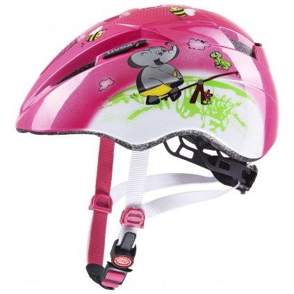 Cyklistická přilba Uvex Kid 2 - pink playground (46/52)