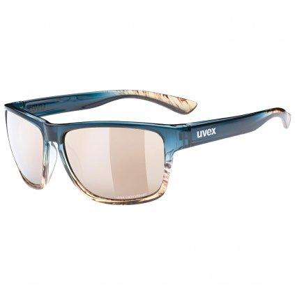 Sluneční brýle Uvex Lgl 36 CV - peacock/sand