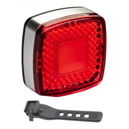 Světlo zadní PRO-T Plus 25 Lumen 25 chips LED diod nabíjecí přes USB 310