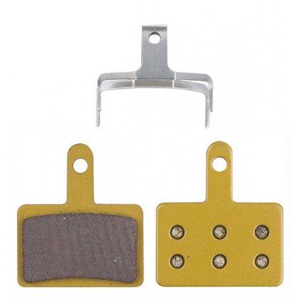 Brzdové destičky PRO-T Plus Ceramic Sintered na Shimano Mechanical/Hydraulic (box 25párů)