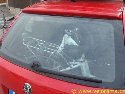 Skládací kolo do auta – Škoda Fabia (2004)