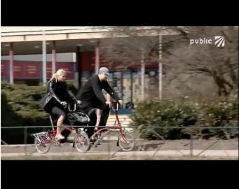 Skládací kola v pořadu Sportlife v Public TV
