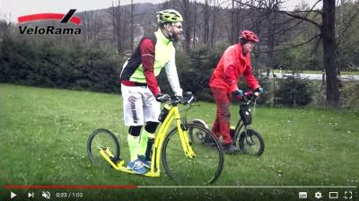 Video – Koloběžkový výlet s Mibem z Rožnova na Martiňák