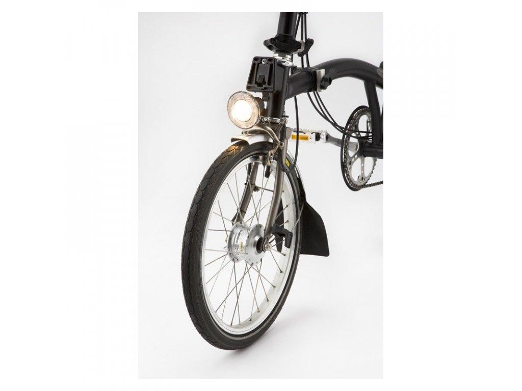 brompton shimano dynamo hub set na kole