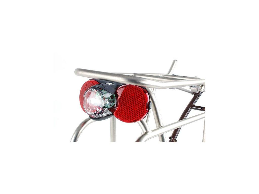 busch and muller d toplight xs permanent bike tail light mounted