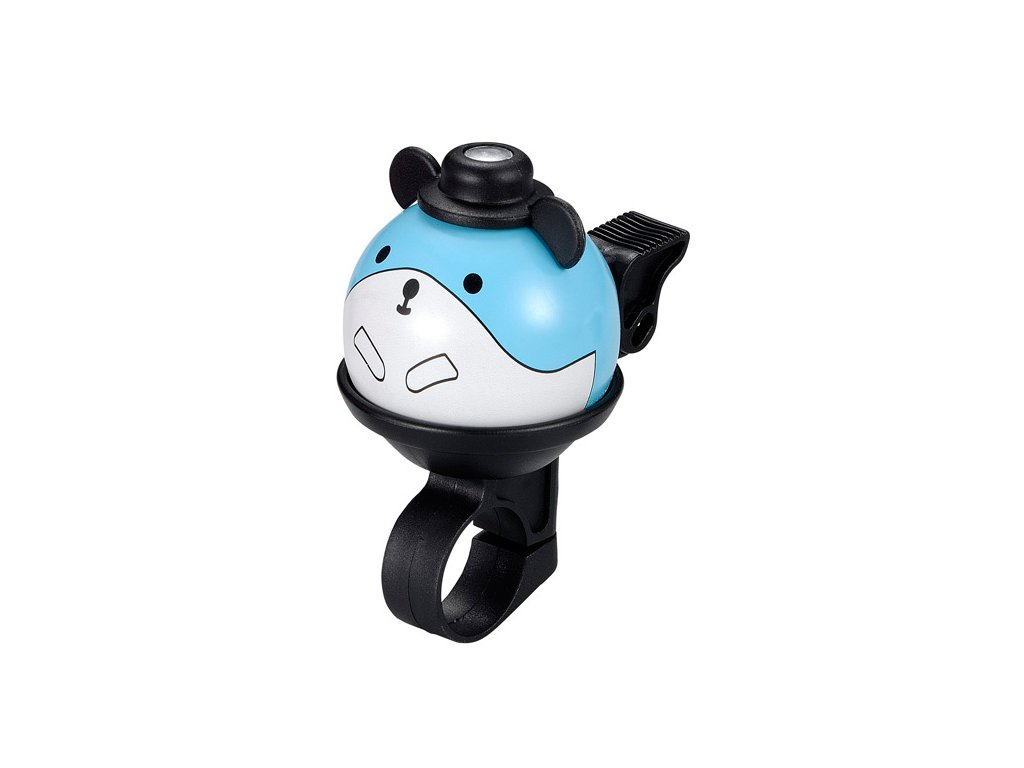 firstbike zvonek myska modra