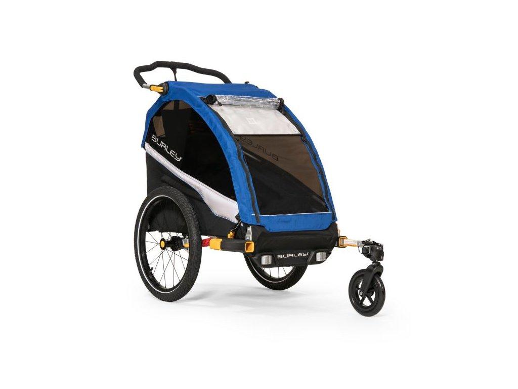 jednomistny odpruzeny detsky vozik