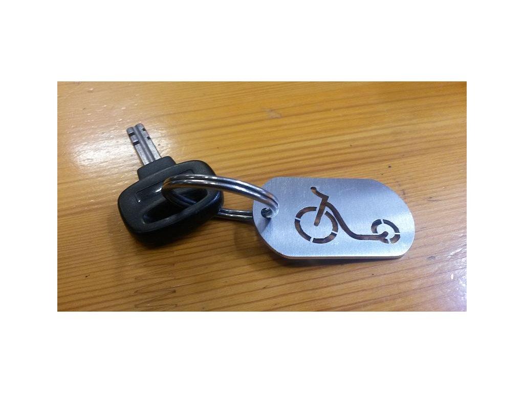 Přívěšek na klíče koloběžka