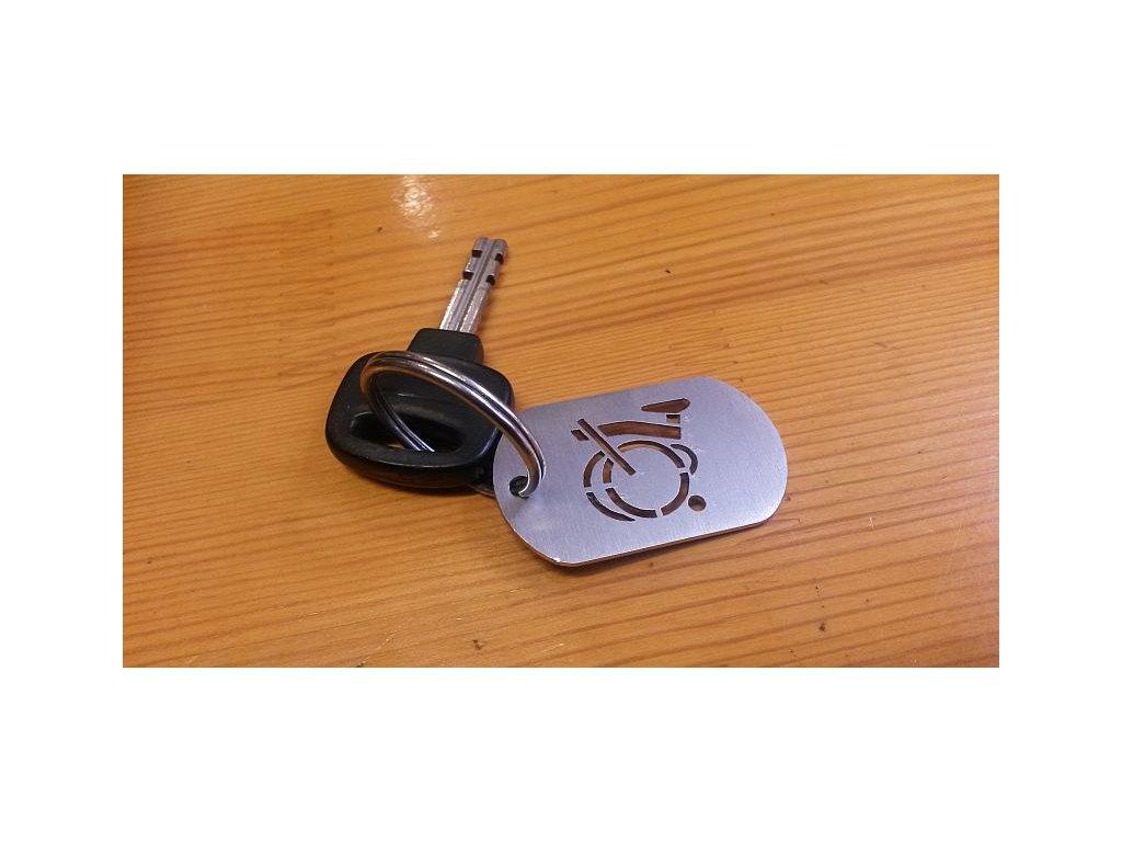 Přívěšek na klíče Brompton