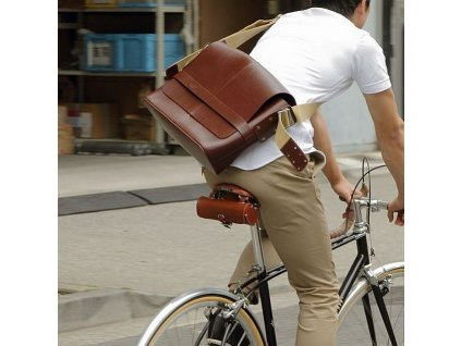 messenger bag kozena brasna brooks barbican hard leather 4