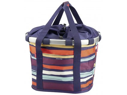 klickfix bike basket artist stripes (1)