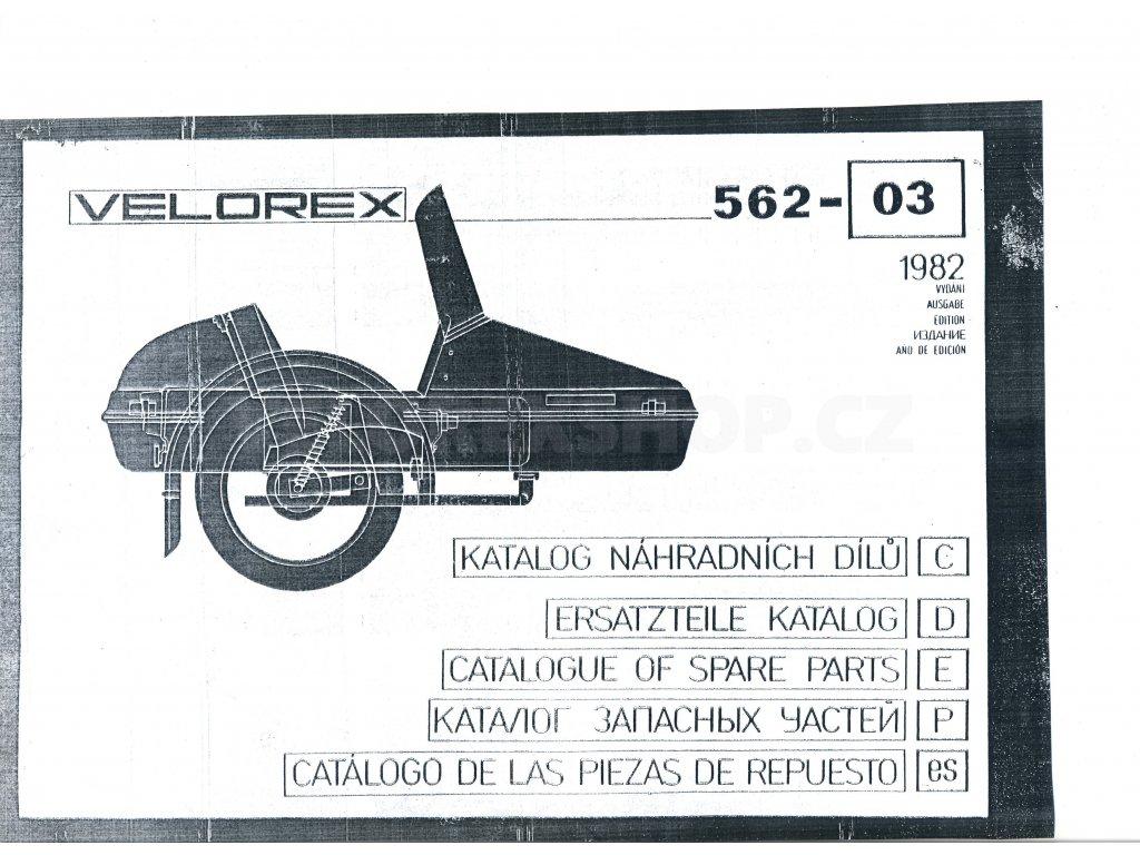 Katalog sidecaru Velorex 562-03