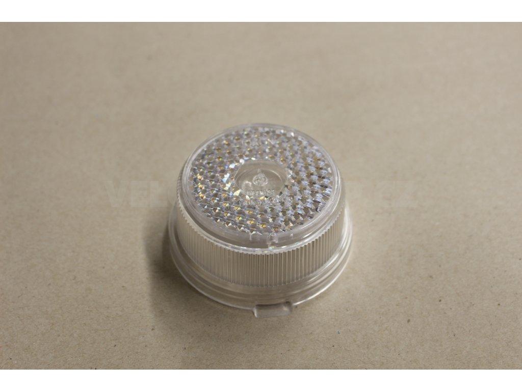 Sklo obrysové svítilny s odrazkou bílá