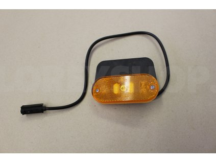 Světlo boční poziční oranžové LED s odrazkou