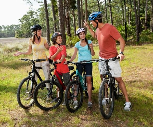 Čo si zbaliť na rodinný cyklovýlet