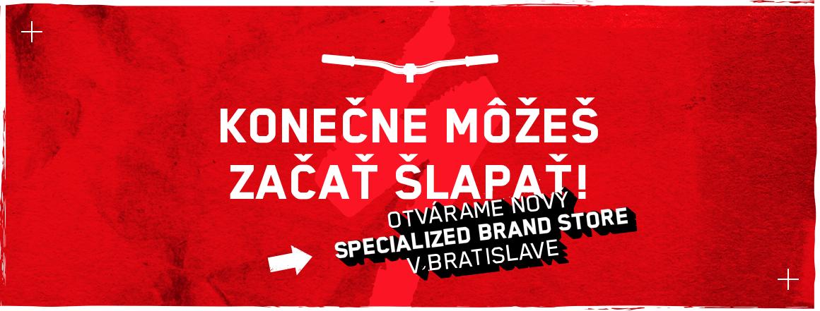 Predajňa Specialized brand store Bratislava OTVORENÁ