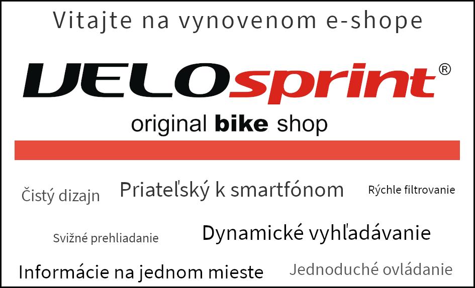 Spustenie vynoveného e-shopu VELOsprint