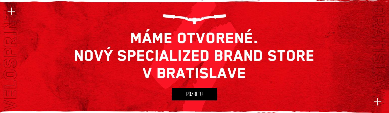 Nová predajňa Specialized Brand Store v Bratislave