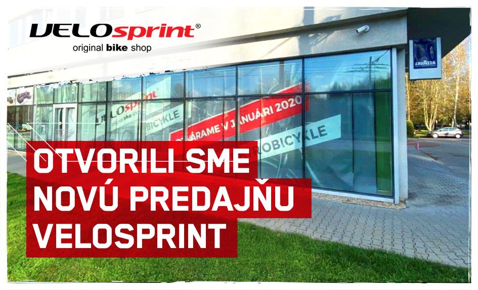Nová predajňa VELO sprint Žilina