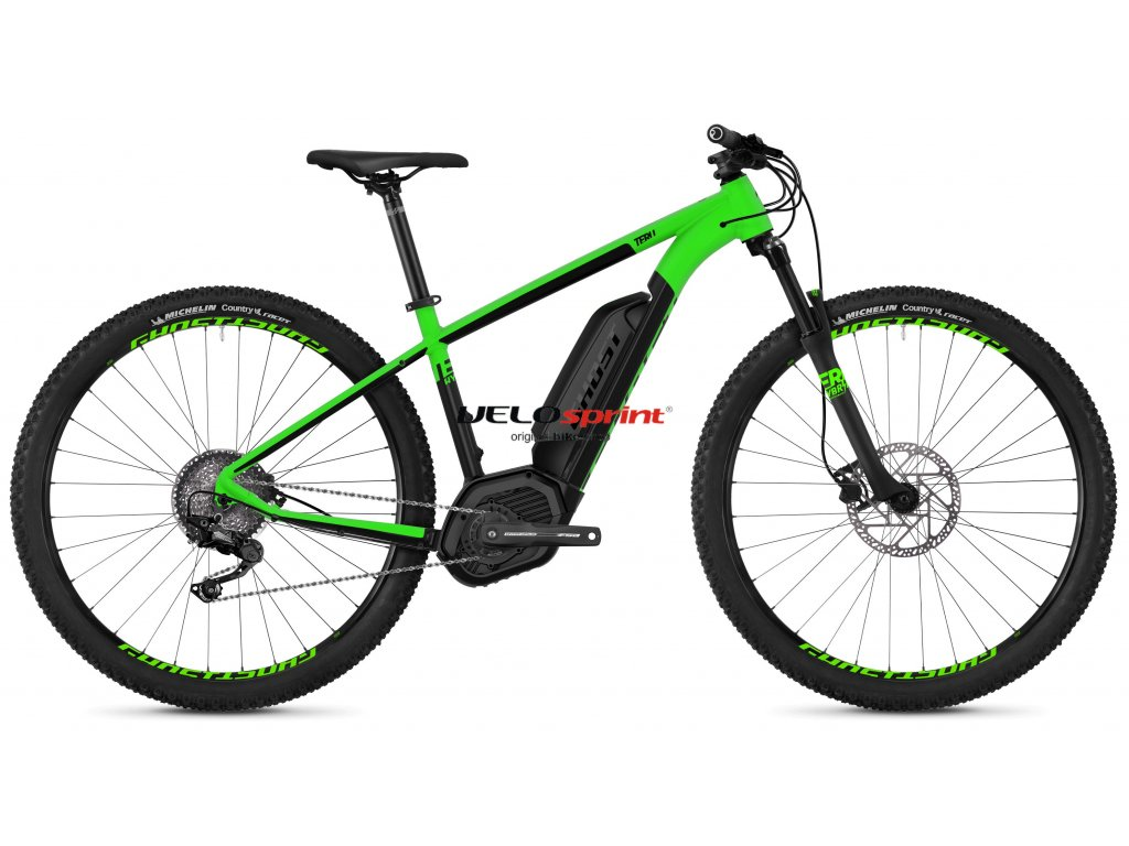 GHOST TERU HYBRID B2.9 GREEN/BLACK 2018
