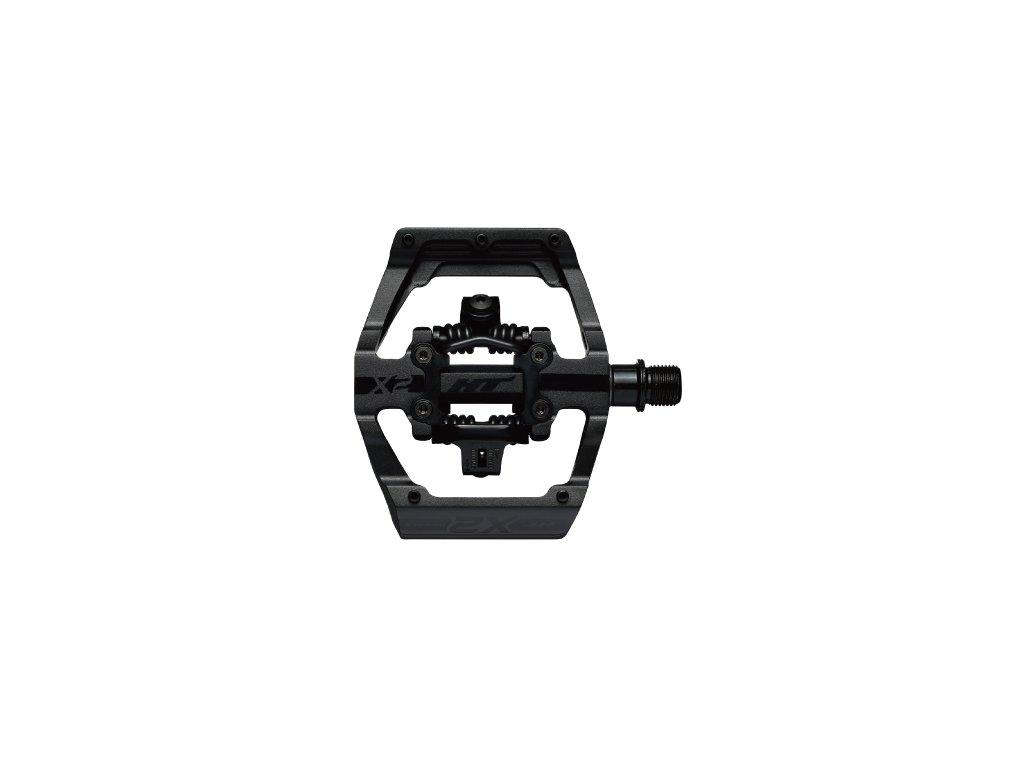 Pedále HT Components X2, stealth čierna