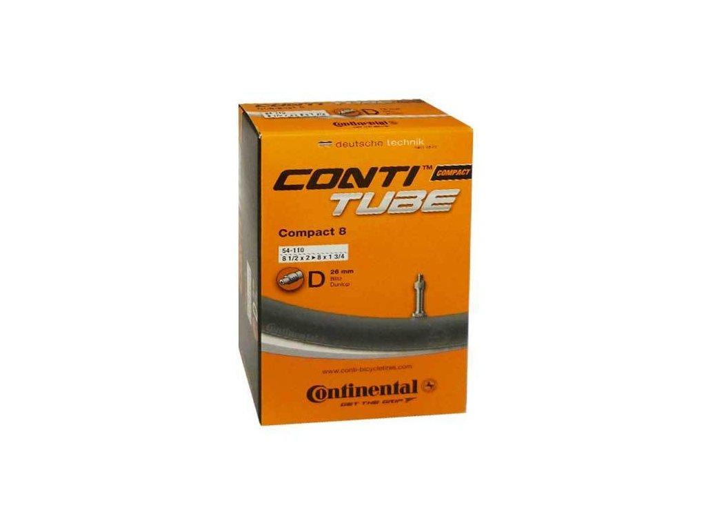 """Continental Compact 8 8"""" 8 1/2x2 - 8x1 3/4 (54-110) Klasický (dunlop) 26 mm"""