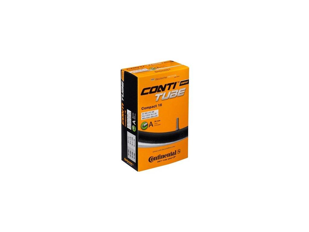 """Continental Compact 14 14"""" 14x1 1/4 -  14x1 1/2 (32-279 -> 47-298) Klasický (dunlop) 26 mm"""