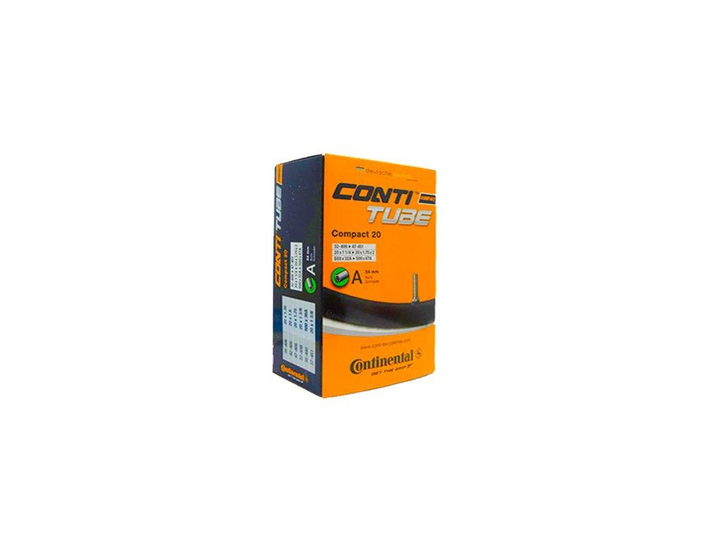 "Continental Compact 20"" 20x1 1/4 - 20x1,75x2 (32-406 -> 47-451) Galuskový 42 mm"