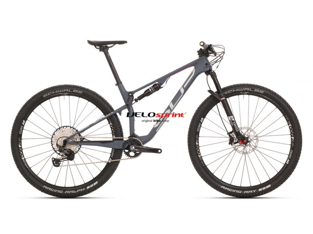 SUPERIOR XF 979 RC MATTE SLATE GREY/SILVER/RED 2020