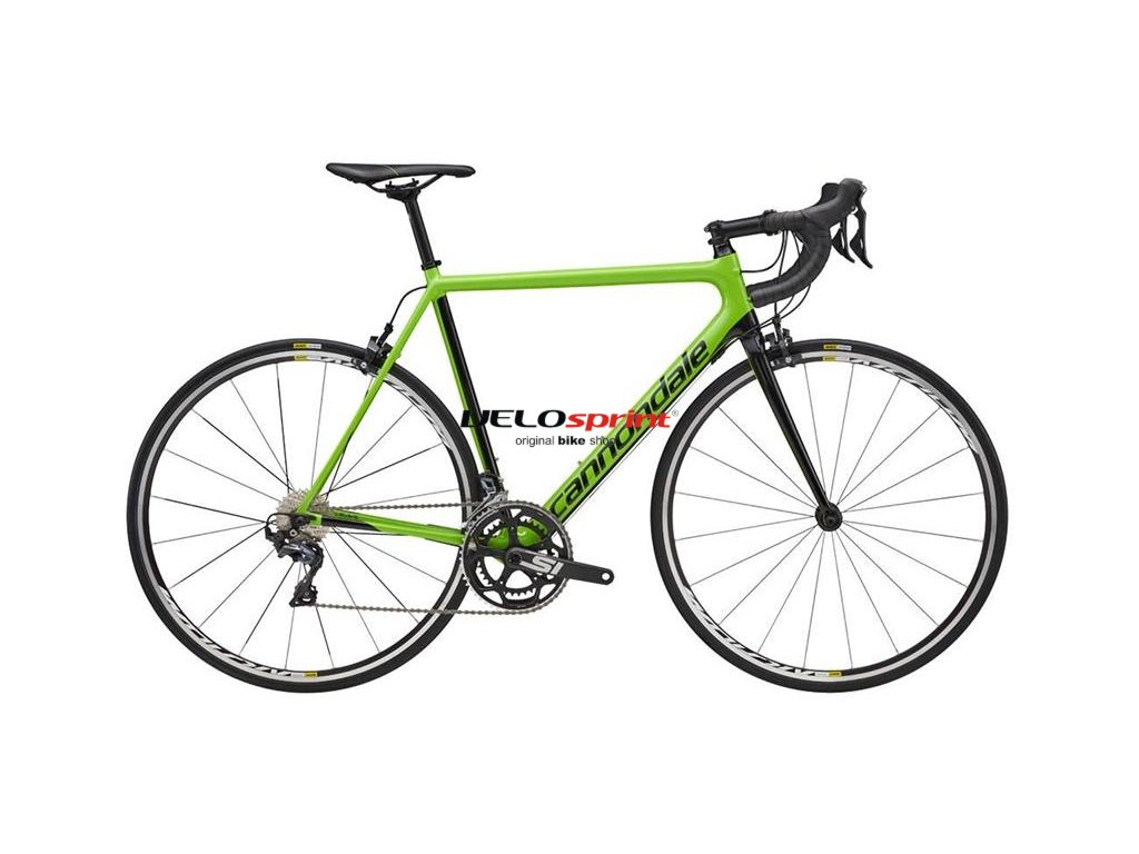 CANNONDALE SUPERSIX EVO ULTEGRA BLACK/GREEN 2018