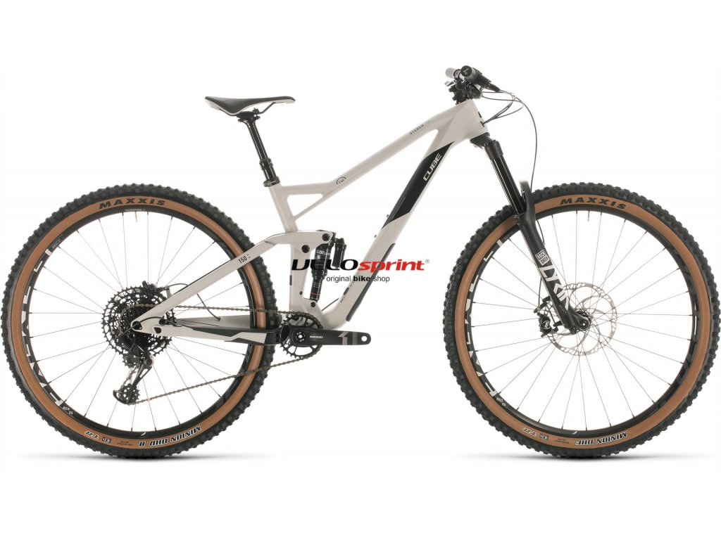 CUBE Stereo 150 C:62 Race Grey n Carbon 2020