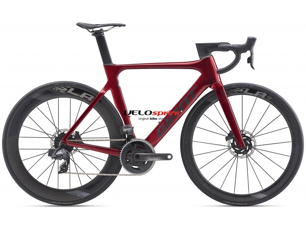 GIANT PROPEL ADVANCED PRO 0 DISC FORCE RED/BLACK/REFLECTIVE 2020