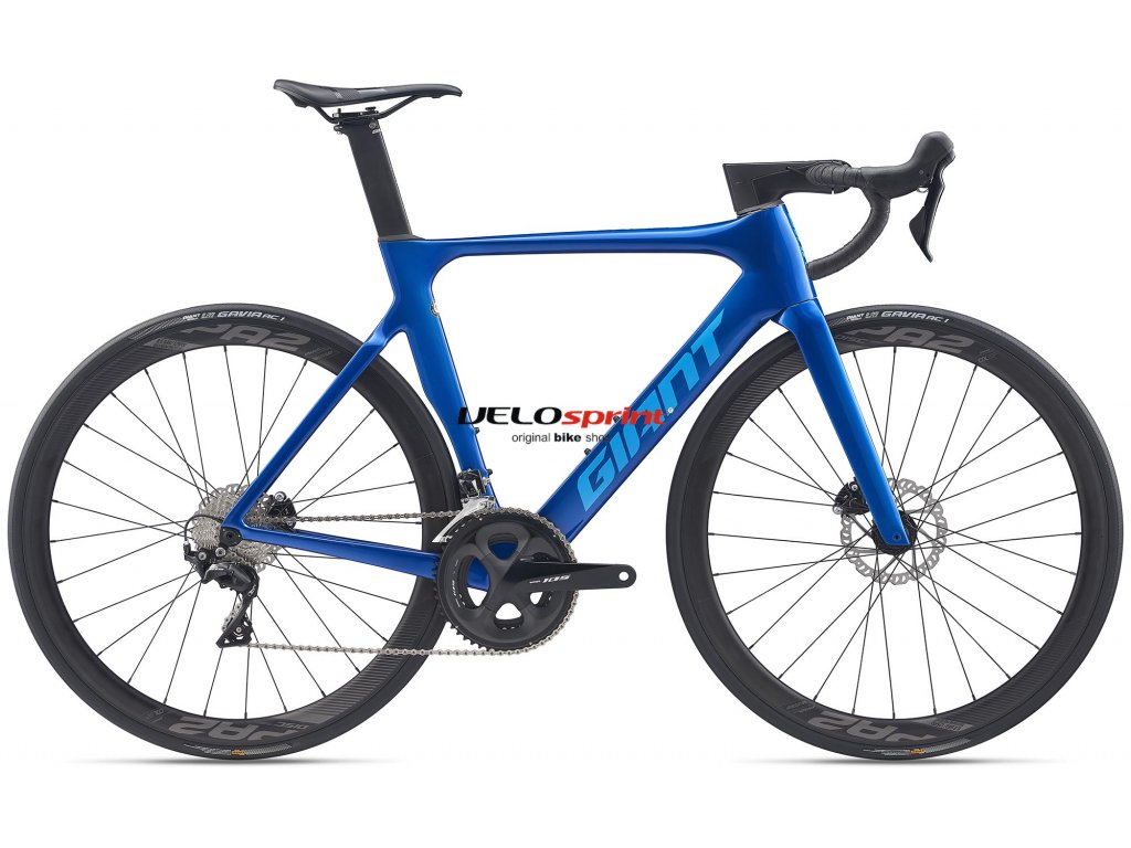 GIANT PROPEL ADVANCED 2 DISC ELECTRIC BLUE 2020