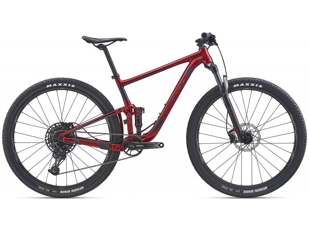 GIANT ANTHEM 29 3 METALLIC RED/METALLIC BLACK 2020 (Veľkosť: XL)
