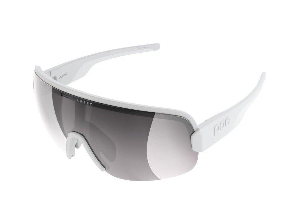 POC Aim Hydrogen White-Violet/Silver Mirror